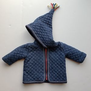 Hanna Anderson Quilted Coat Jacket Toddler sz 60
